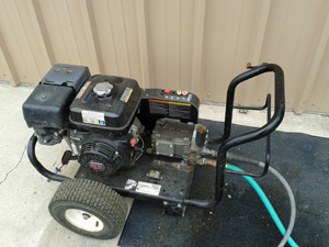 Rental Equipment - Pressure Washer