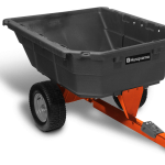 12.5 cu. ft. Poly Swivel Utility Dump Cart