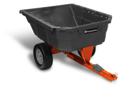 12.5 cu. ft. Poly Swivel Utility Dump Cart