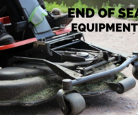END OF SEASON EQUIPMENT CARE
