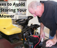 Mistakes to Avoid When Storing Your Lawn Mower