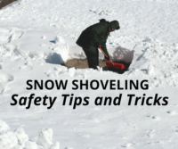 Snow Shoveling Safety Tips and Tricks