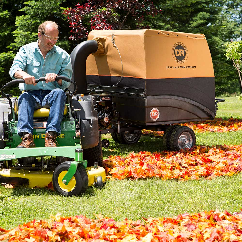 Dr Leaf And Lawn Vacuum Pro Xl 321 Tow Behind Snappy S