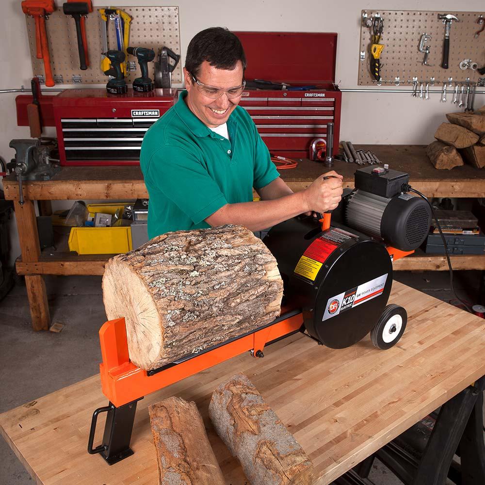 Dr Rapidfire Flywheel Log Splitter K10 Electric Model